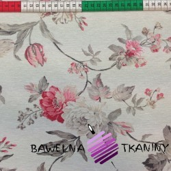 Curtain Fabric flowers 11
