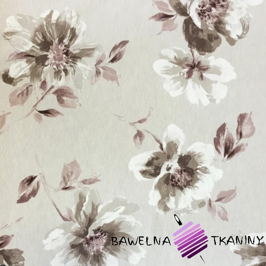 Bawełna kwiaty 8 CANVAS