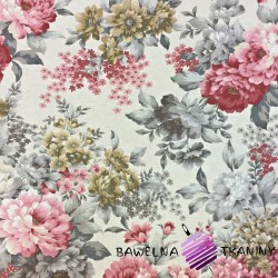 Curtain Fabric flowers 19