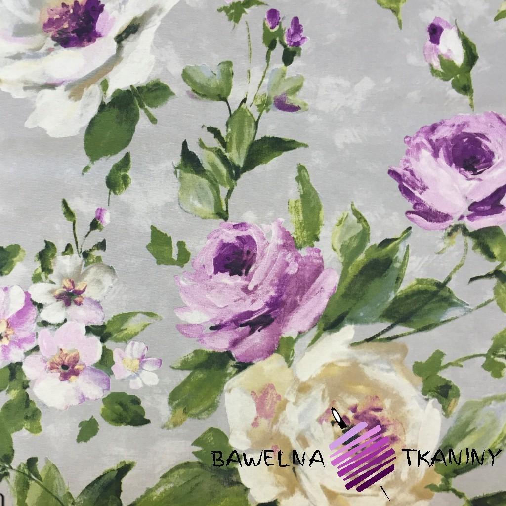 Bawełna kwiaty 20 CANVAS