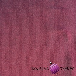 Wool plain burgundy