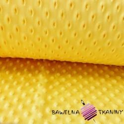 Minky Grube Ciemny żółty -4