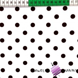 Cotton black spots on black background