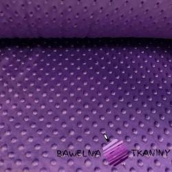 Minky thick milka purple 8