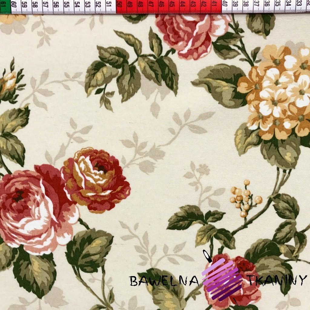 Bawełna kwiaty 27 CANVAS