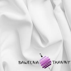 Bawełna gruba biała pościelowa - MALAGA - 240cm
