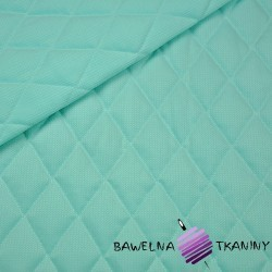 velvet mint quilted in diamonds
