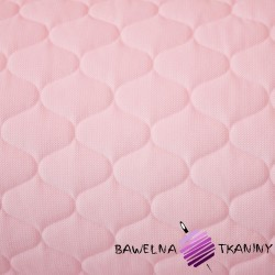 velvet light pink quilted in tops