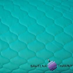 Velvet pikowany ciemny morski 9 - bączki