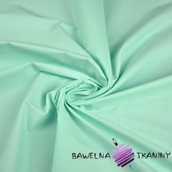 Plain cotton light mint 220cm