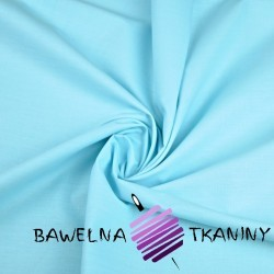 Plain cotton light turquoise 220cm