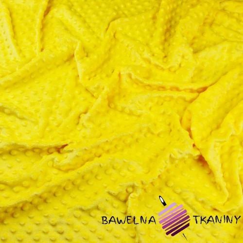 Minky Premium jasny żółty