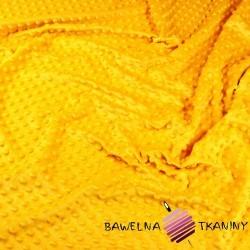 Minky Grube 350 g/m2 ciemny żółty