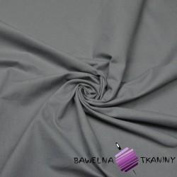 Bawełna gładka szara 220cm