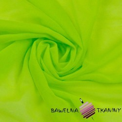 Chiffon fabric - celadon green