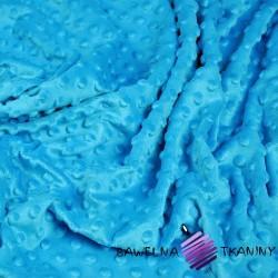 Minky Premium niebieski (Azure)