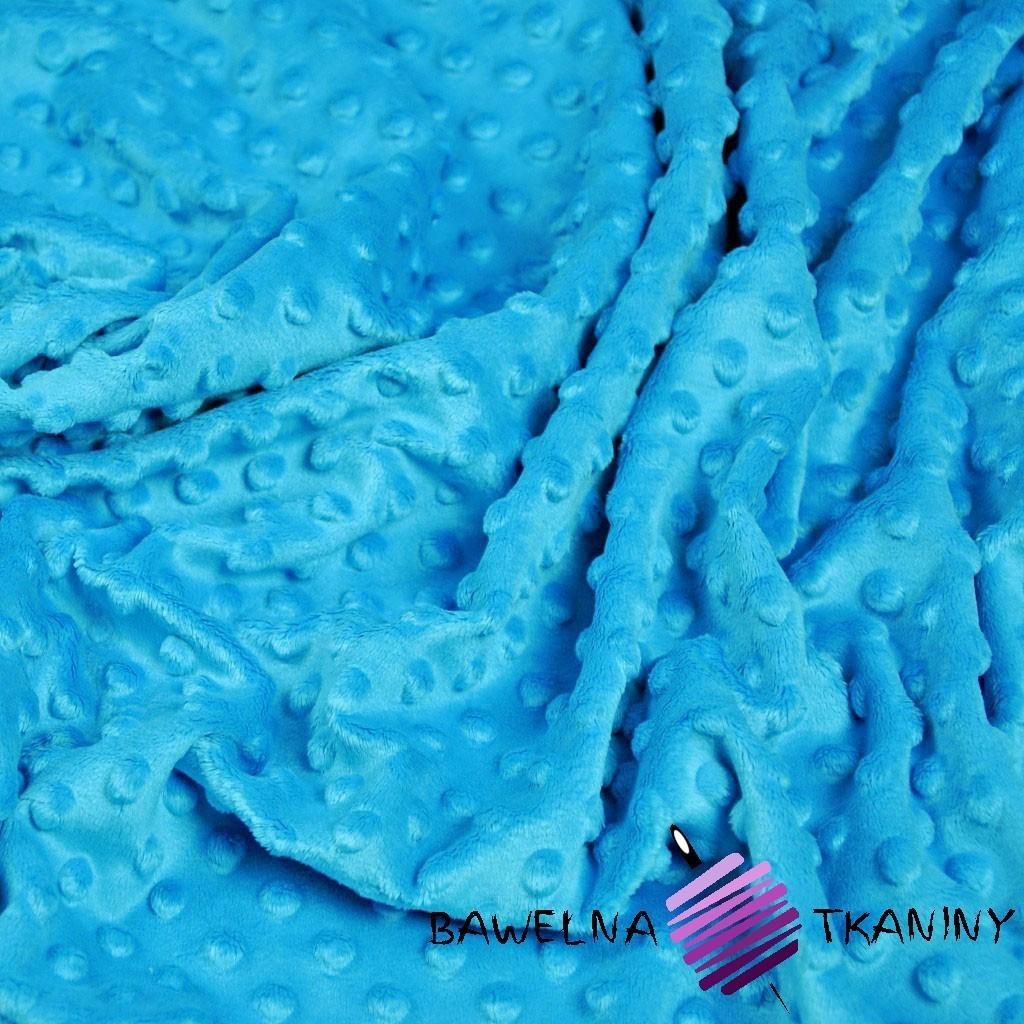 Minky Premium niebieski