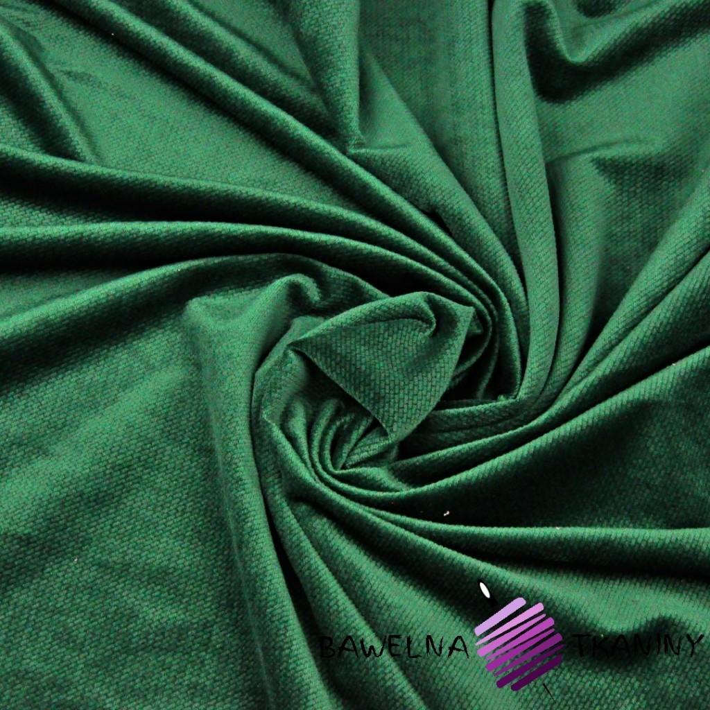 Velvet gładki butelkowa zieleń