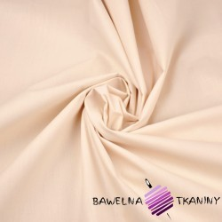 Plain cotton light beige 220cm