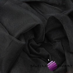 Decorative tulle black - soft