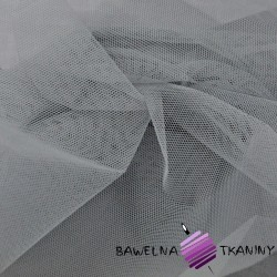 Decorative tulle gray