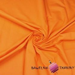 Bawełna gładka pomarańczowa 14