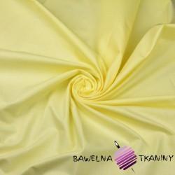 Bawełna jasny żółty