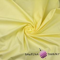 Plain cotton light yellow