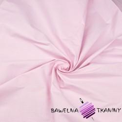 Bawełna gładka jasno różowa 220cm