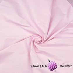 Plain cotton light pink 220cm