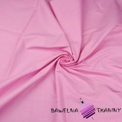 Bawełna gładka różowa