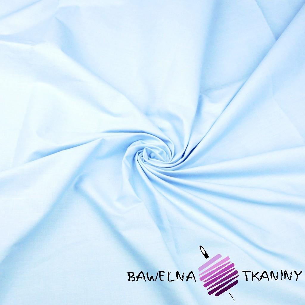 Bawełna gładka błękitna 10