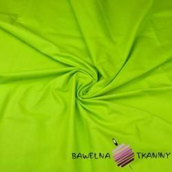 Bawełna gładka zielona 13