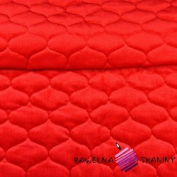 velvet red quilted in tops