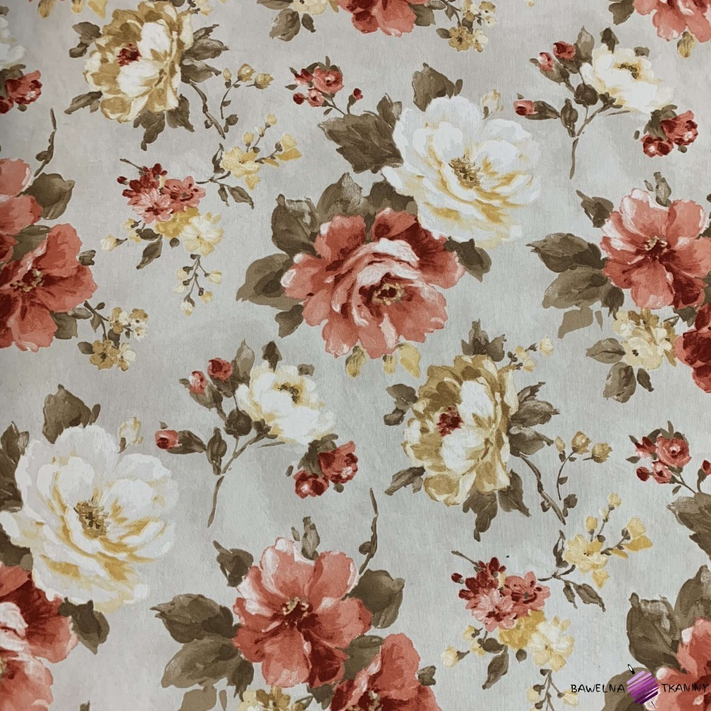 Canvas zasłonowy kwiaty 28