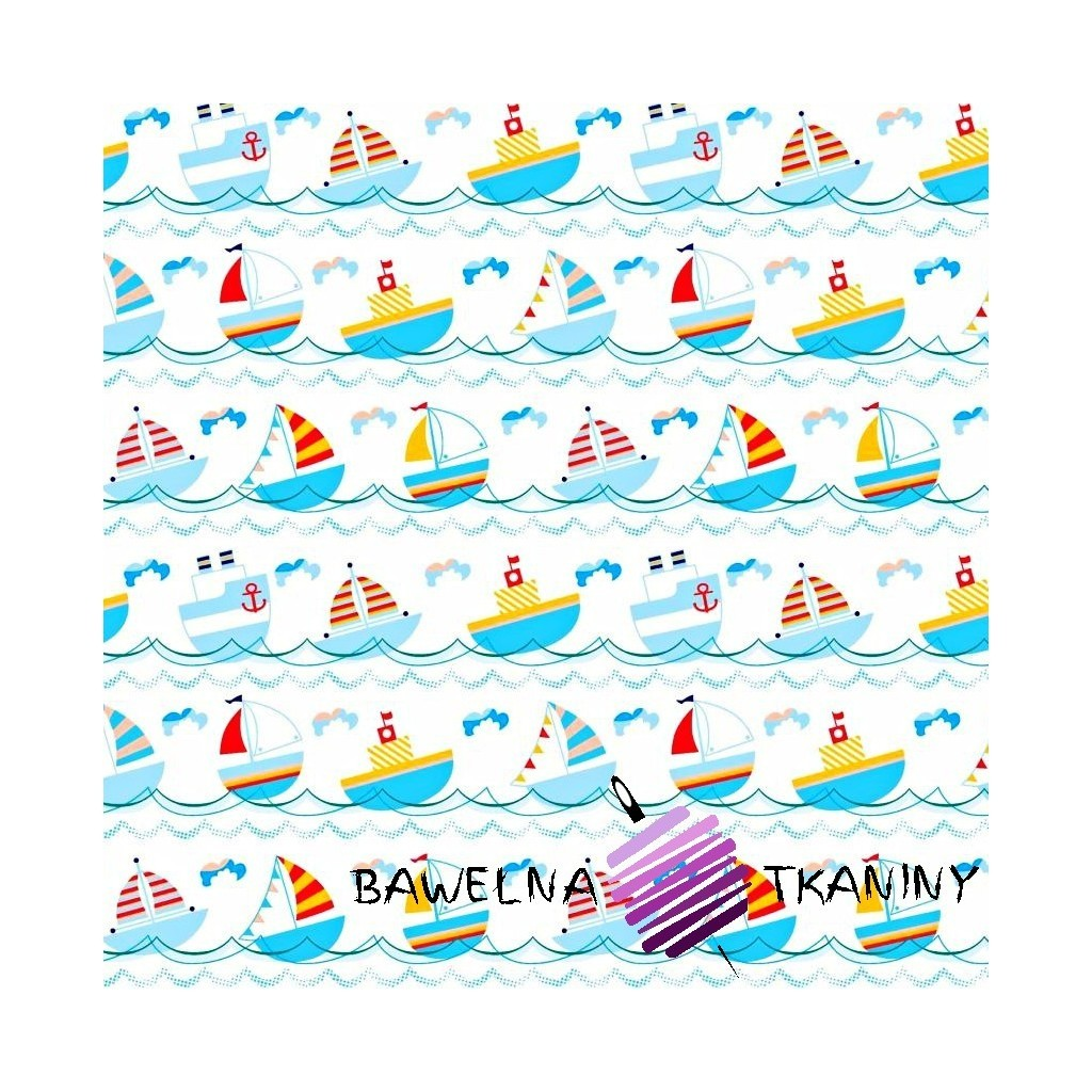 Bawełna łódeczki