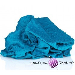 Minky Premium ciemny turkus (Mosaic blue)