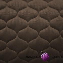 Velvet pikowany gorzka czekolada 31 - bączki