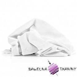 Minky gładki Premium biały (White)