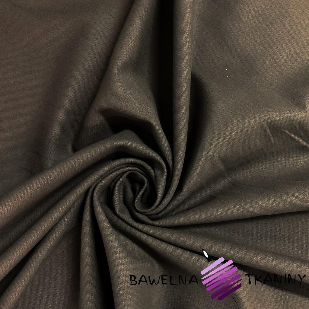 Tkanina dekoracyjna bawełna z lycrą - brązowy