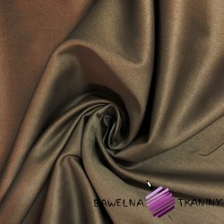 Lycra cotton decorative fabric - brown