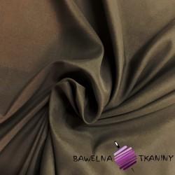Tkanina dekoracyjna poliestrowa - brązowa
