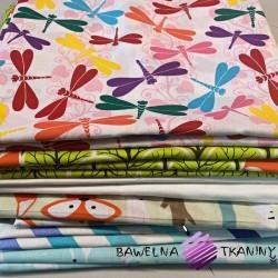 Ścinki tkanin bawełnianych , końcówki - 5kg