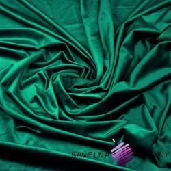 Polyester velvet - bottled green