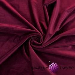 Polyester velvet - Burgundy