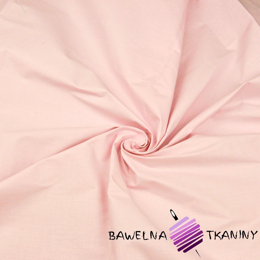Plain cotton light coral pink
