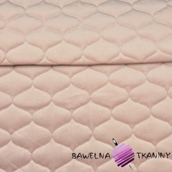 velvet dirty pink quilted in tops