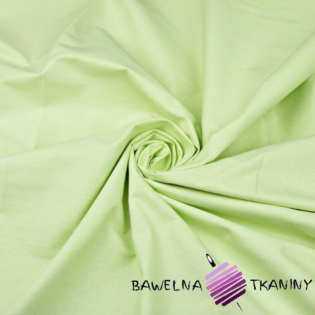 Bawełna gładka pistacjowa 220cm