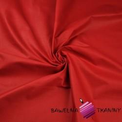 Bawełna gładka ciemno czerwona 220cm