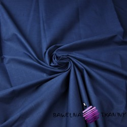 Plain cotton navy blue 220cm